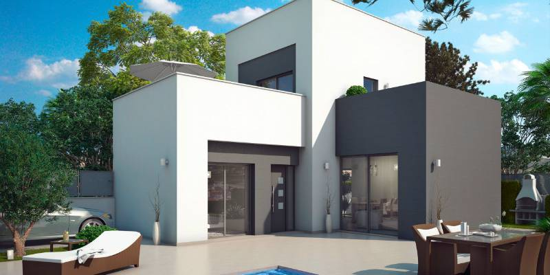 New Detached Villa to Buy in Rojales Costa Blanca South