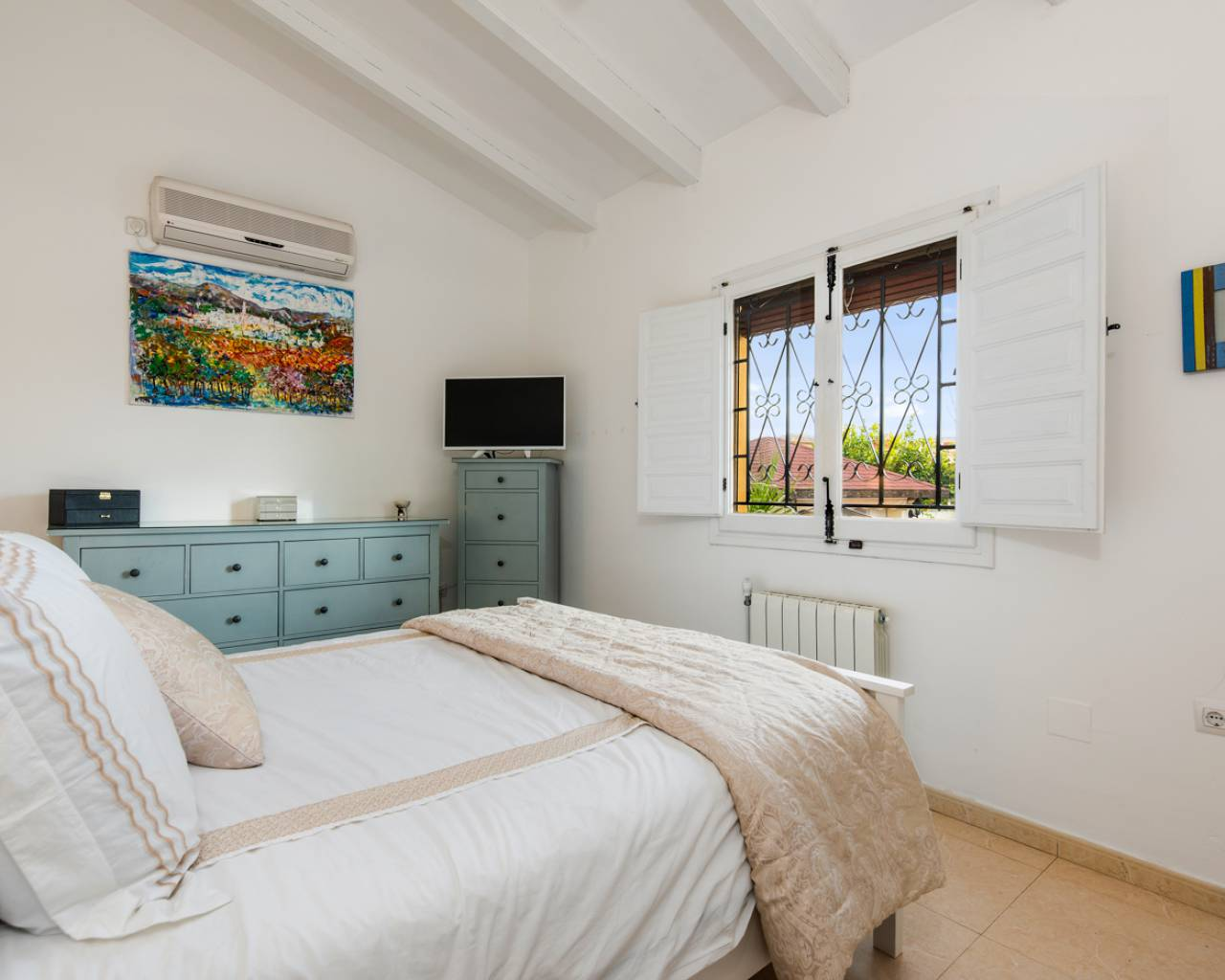 Bedroom | Resale country house in Almoradí