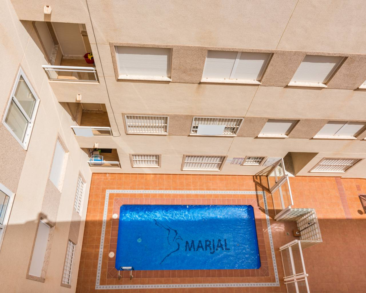 Pool views | Second-hand apartment with pool in Formentera del Segura